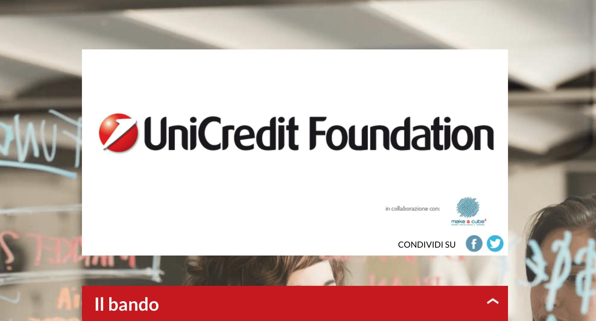 Il bando UniCredit Carta per le no profit a sostegno dell'occupazione giovanile