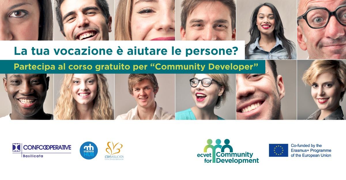 Corso gratuito per Community Developer a Matera