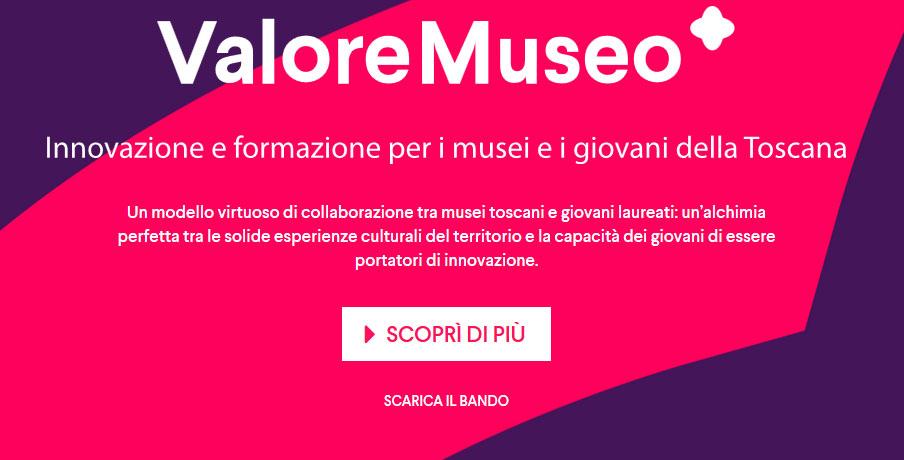 ValoreMuseo, il programma per dare valore a 12 musei toscani