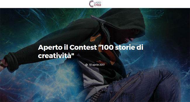 """Al via la nuova edizione del contest """"100 Storie di creatività"""""""