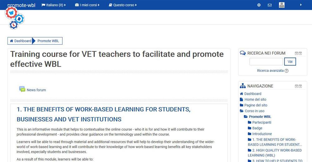 Sviluppare le capacità imprenditoriali degli studenti con un corso online