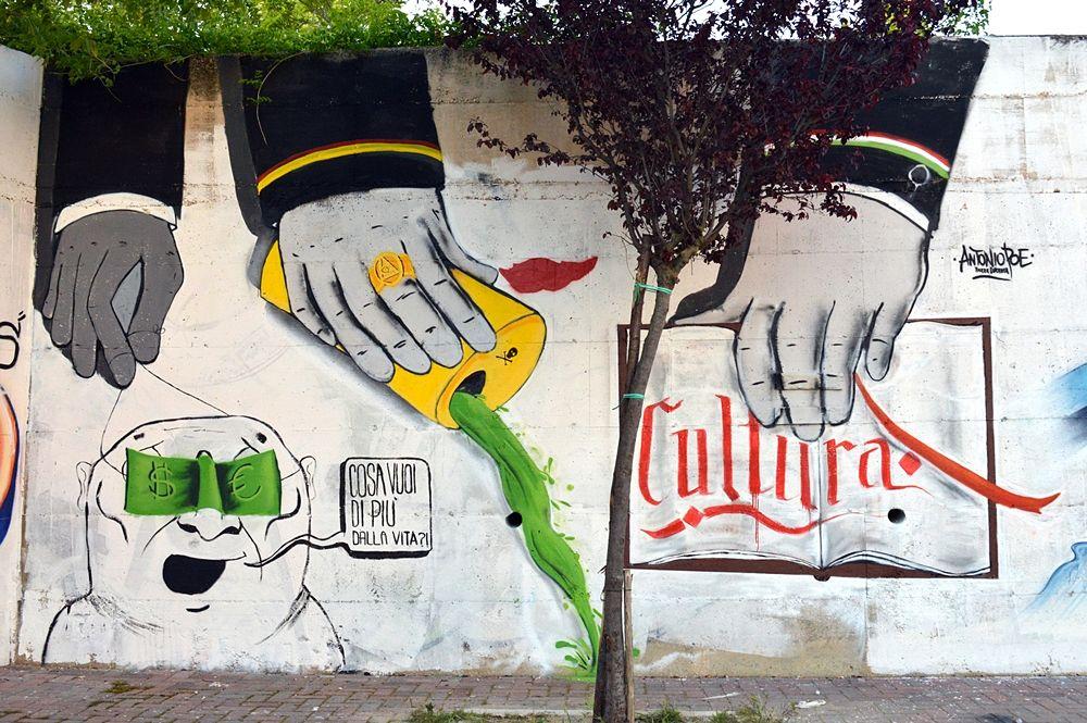 """La prima """"Creative street"""" a Matera"""