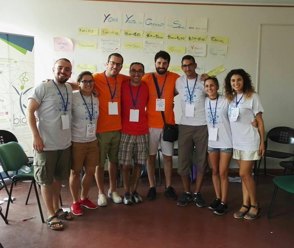 Delegazione lucana che ha partecipato al meeting di Messina