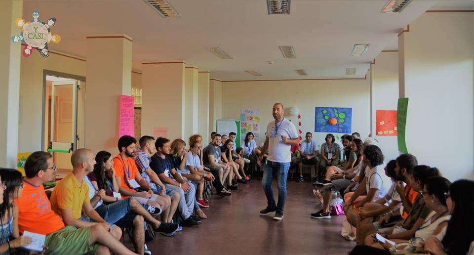 I partecipanti del meeting del progetto Y-CASI