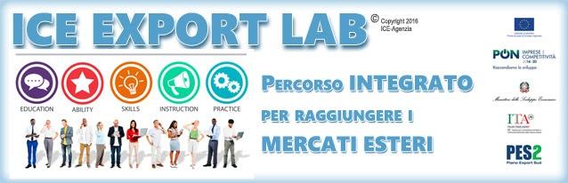 Percorso formativoICE Export Lab Basilicata per PMI, Consorzi e reti di impresa lucani
