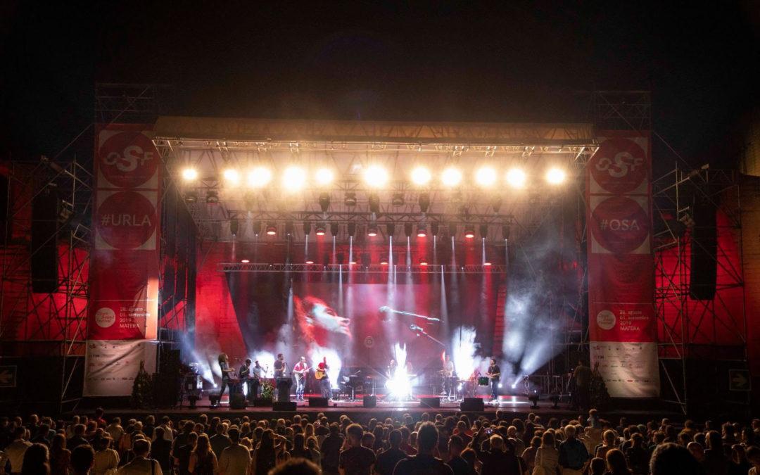 Open Sound Festival, Cava del Sole, Matera, 2019