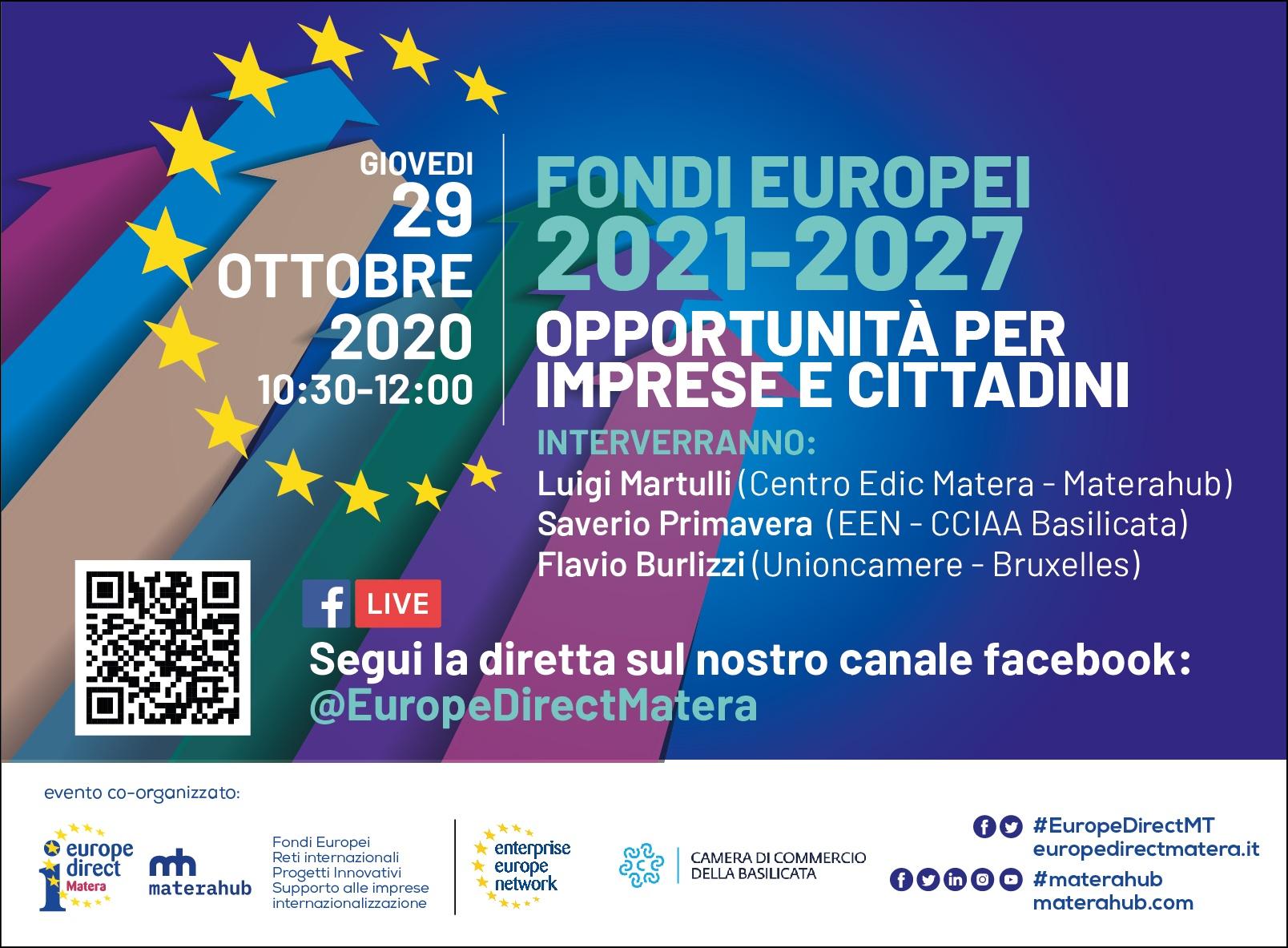Webinar sulla Nuova Programmazione UE 2021-2027