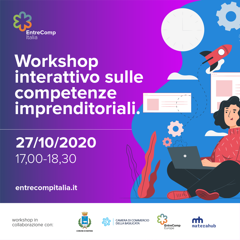 Workshop interattivo sulle competenze imprenditoriali